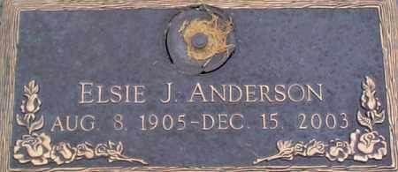 ANDERSON, ELSIE JENNY - Salt Lake County, Utah | ELSIE JENNY ANDERSON - Utah Gravestone Photos