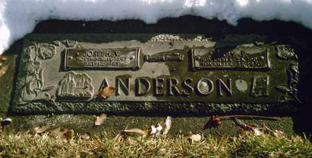 ELDER ANDERSON, MARY FRANCES - Salt Lake County, Utah | MARY FRANCES ELDER ANDERSON - Utah Gravestone Photos