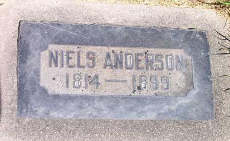 ANDERSON, NIELS - Salt Lake County, Utah | NIELS ANDERSON - Utah Gravestone Photos