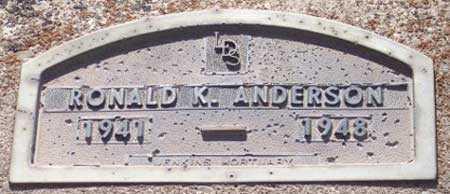 ANDERSON, RONALD KENNETH - Salt Lake County, Utah | RONALD KENNETH ANDERSON - Utah Gravestone Photos