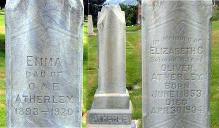 ATHERLEY, ELIZABETH - Salt Lake County, Utah | ELIZABETH ATHERLEY - Utah Gravestone Photos