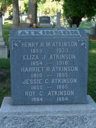 ATKINSON, HARRIET REBECCA - Salt Lake County, Utah | HARRIET REBECCA ATKINSON - Utah Gravestone Photos