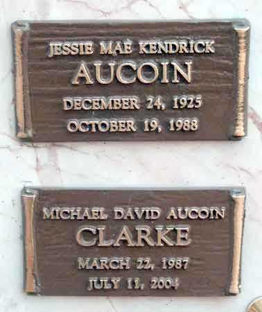 CLARKE, MICHAEL DAVID AUCOIN - Salt Lake County, Utah | MICHAEL DAVID AUCOIN CLARKE - Utah Gravestone Photos