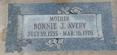 AVERY, BONNIE J. - Salt Lake County, Utah   BONNIE J. AVERY - Utah Gravestone Photos