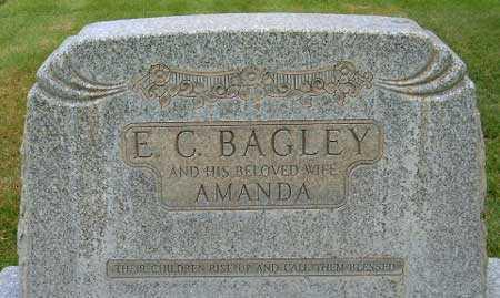 BAGLEY, AMANDA BARR - Salt Lake County, Utah | AMANDA BARR BAGLEY - Utah Gravestone Photos
