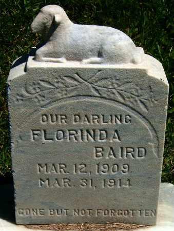 BAIRD, FLORINDA - Salt Lake County, Utah | FLORINDA BAIRD - Utah Gravestone Photos