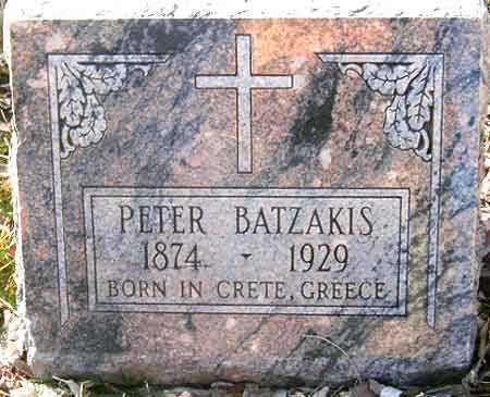 BATZAKIS, PETER - Salt Lake County, Utah   PETER BATZAKIS - Utah Gravestone Photos