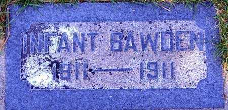 BAWDEN, INFANT - Salt Lake County, Utah | INFANT BAWDEN - Utah Gravestone Photos