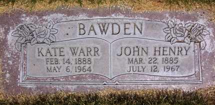 BAWDEN, KATHERINE - Salt Lake County, Utah | KATHERINE BAWDEN - Utah Gravestone Photos