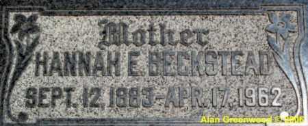 ERICKSON BECKSTEAD, HANNAH ELIZABETH (JOHANNAH) - Salt Lake County, Utah | HANNAH ELIZABETH (JOHANNAH) ERICKSON BECKSTEAD - Utah Gravestone Photos