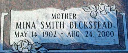 SMITH, MINA - Salt Lake County, Utah | MINA SMITH - Utah Gravestone Photos