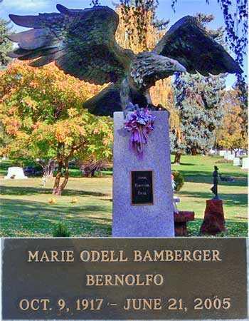 ODELL, MARIE - Salt Lake County, Utah | MARIE ODELL - Utah Gravestone Photos