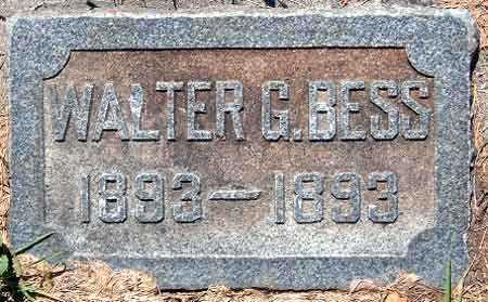 BESS, GEORGE WALTER - Salt Lake County, Utah   GEORGE WALTER BESS - Utah Gravestone Photos