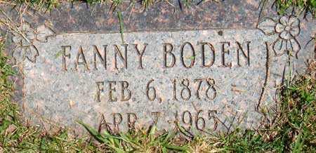 ANDERSON, FANNY - Salt Lake County, Utah | FANNY ANDERSON - Utah Gravestone Photos