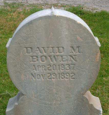 BOWEN, DAVID MORRIS - Salt Lake County, Utah | DAVID MORRIS BOWEN - Utah Gravestone Photos