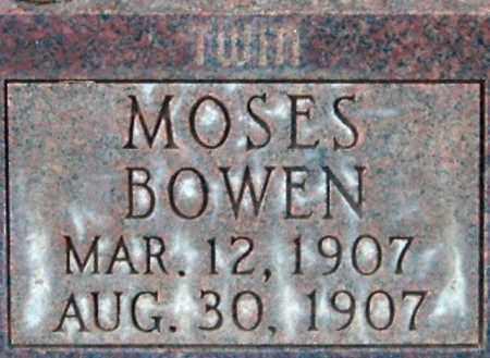 BOWEN, MOSES - Salt Lake County, Utah | MOSES BOWEN - Utah Gravestone Photos