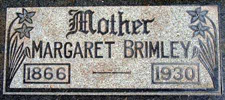 BRIMLEY, MARGARET - Salt Lake County, Utah | MARGARET BRIMLEY - Utah Gravestone Photos