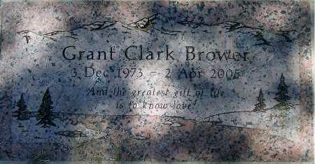 BROWER, GRANT CLARK - Salt Lake County, Utah | GRANT CLARK BROWER - Utah Gravestone Photos