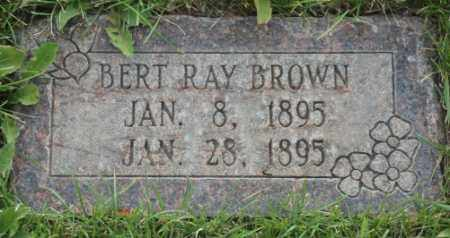 BROWN, BERT RAY - Salt Lake County, Utah   BERT RAY BROWN - Utah Gravestone Photos