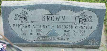 BROWN, MILDRED - Salt Lake County, Utah | MILDRED BROWN - Utah Gravestone Photos