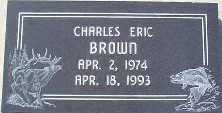 BROWN, CHARLES ERIC - Salt Lake County, Utah   CHARLES ERIC BROWN - Utah Gravestone Photos