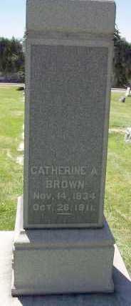 BROWN, CATHERINE A. - Salt Lake County, Utah | CATHERINE A. BROWN - Utah Gravestone Photos