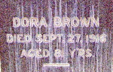 BROWN, DORA - Salt Lake County, Utah   DORA BROWN - Utah Gravestone Photos