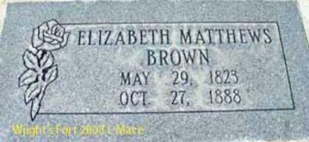 BROWN, ELIZABETH - Salt Lake County, Utah | ELIZABETH BROWN - Utah Gravestone Photos