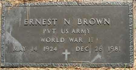 BROWN, ERNEST NEPHI - Salt Lake County, Utah   ERNEST NEPHI BROWN - Utah Gravestone Photos