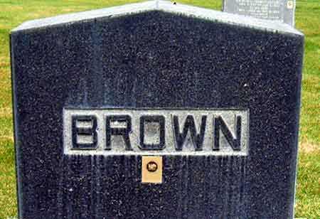 BROWN, FAMILY - Salt Lake County, Utah   FAMILY BROWN - Utah Gravestone Photos