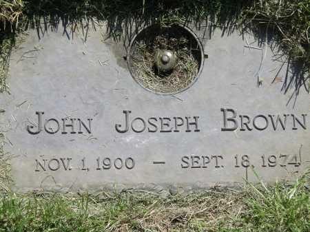 BROWN, JOHN JOSEPH - Salt Lake County, Utah | JOHN JOSEPH BROWN - Utah Gravestone Photos