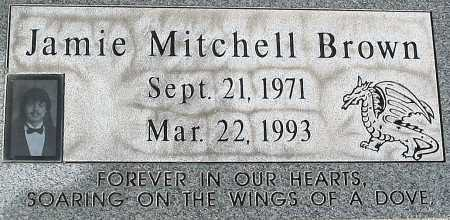 BROWN, JAMIE MITCHELL - Salt Lake County, Utah | JAMIE MITCHELL BROWN - Utah Gravestone Photos