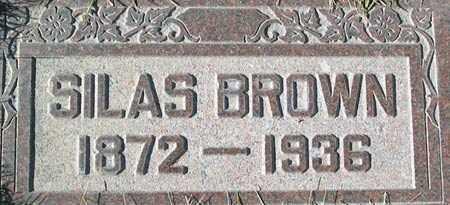 BROWN, SILAS - Salt Lake County, Utah   SILAS BROWN - Utah Gravestone Photos