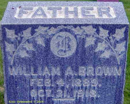 BROWN, WILLIAM ALONZO - Salt Lake County, Utah | WILLIAM ALONZO BROWN - Utah Gravestone Photos