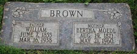 BROWN, BERTHA - Salt Lake County, Utah | BERTHA BROWN - Utah Gravestone Photos