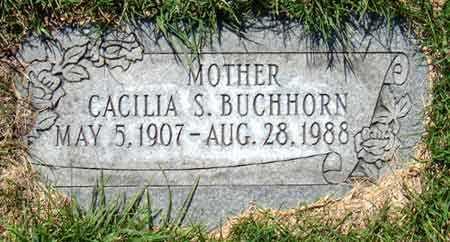 BUCHHORN, CACILIA ANNA MARIA - Salt Lake County, Utah   CACILIA ANNA MARIA BUCHHORN - Utah Gravestone Photos