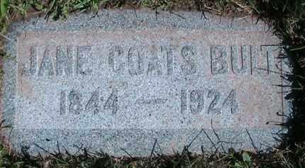 BULT, JANE - Salt Lake County, Utah   JANE BULT - Utah Gravestone Photos