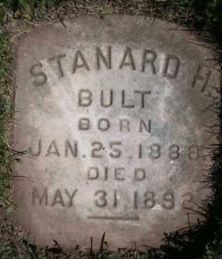 BULT, STANDARD H - Salt Lake County, Utah   STANDARD H BULT - Utah Gravestone Photos