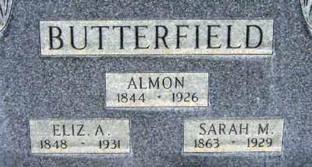 BUTTERFIELD, ALMON - Salt Lake County, Utah | ALMON BUTTERFIELD - Utah Gravestone Photos