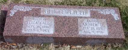 BUTTERFIELD, ANDREW DODD - Salt Lake County, Utah | ANDREW DODD BUTTERFIELD - Utah Gravestone Photos