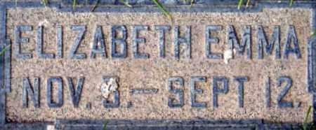 BUTTERFIELD, ELIZABETH EMMA - Salt Lake County, Utah | ELIZABETH EMMA BUTTERFIELD - Utah Gravestone Photos