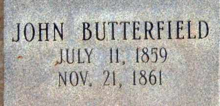 BUTTERFIELD, JOHN MORRIS - Salt Lake County, Utah | JOHN MORRIS BUTTERFIELD - Utah Gravestone Photos