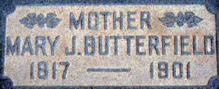 PARKER BUTTERFIELD, MARY JANE - Salt Lake County, Utah | MARY JANE PARKER BUTTERFIELD - Utah Gravestone Photos