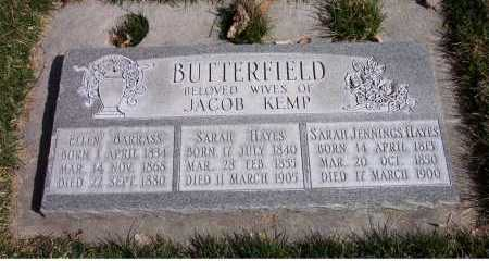 BUTTERFIELD, SARAH - Salt Lake County, Utah | SARAH BUTTERFIELD - Utah Gravestone Photos