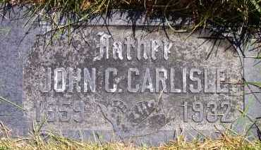 CARLISLE, JOHN CHARLES - Salt Lake County, Utah   JOHN CHARLES CARLISLE - Utah Gravestone Photos
