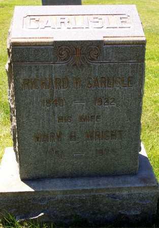 CARLISLE, MARY HANNAH - Salt Lake County, Utah | MARY HANNAH CARLISLE - Utah Gravestone Photos
