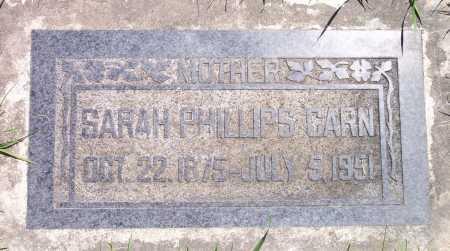CARN, SARAH - Salt Lake County, Utah | SARAH CARN - Utah Gravestone Photos
