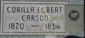 CARSON, CORILLA - Salt Lake County, Utah | CORILLA CARSON - Utah Gravestone Photos