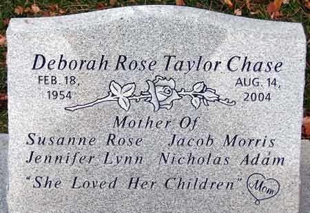 CHASE, DEBORAH ROSE - Salt Lake County, Utah | DEBORAH ROSE CHASE - Utah Gravestone Photos