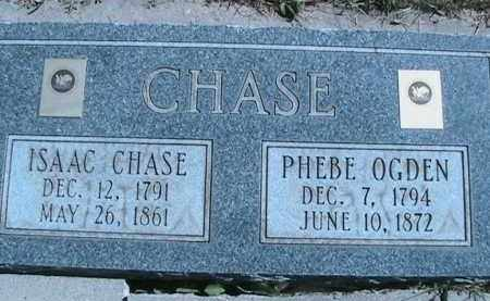 OGDEN CHASE, PHEBE - Salt Lake County, Utah | PHEBE OGDEN CHASE - Utah Gravestone Photos